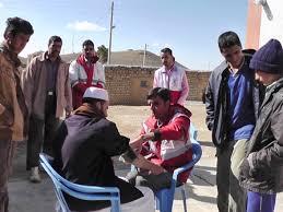 اعزام کاروان همدلی به روستای شهرک شهرستان خواف