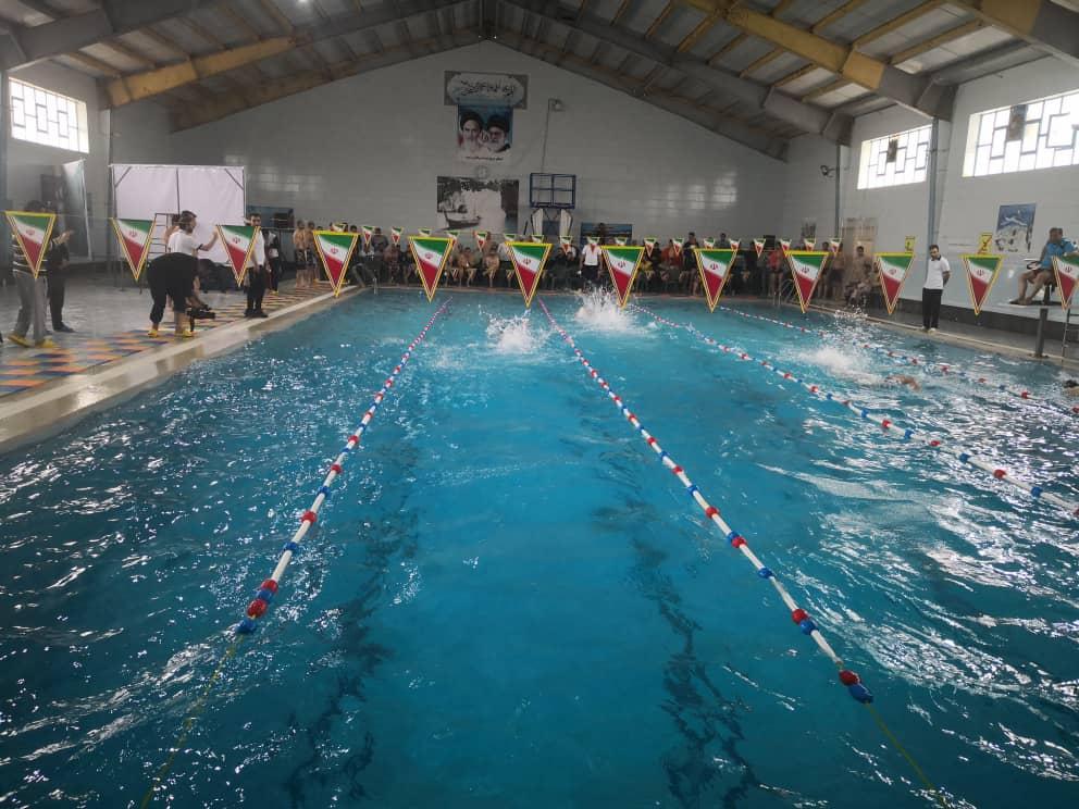نیروی دریایی، قهرمان رقابتهای شنای سراسری سپاه