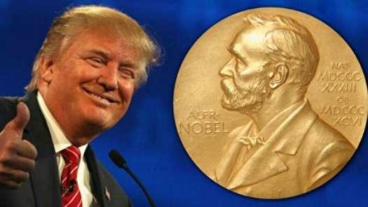ترامپ خواهان دریافت جایزه صلح نوبل است