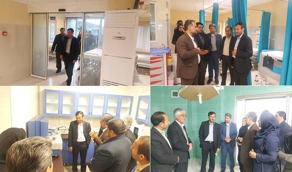 افتتاح بیمارستان قائمیه با به روزترین تجهیزات پزشکی