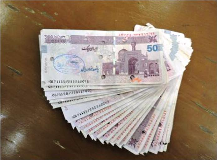 چک پولهای تقلبی در شیراز