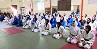 برگزاری دوره آموزشی جودو بانوان در بندرعباس