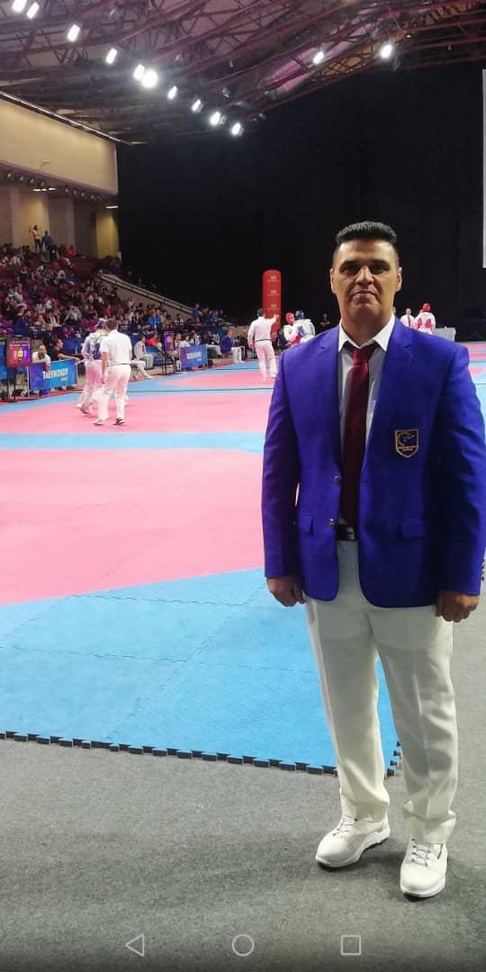 قضاوت داور فارسی در مسابقات قهرمانی اروپا