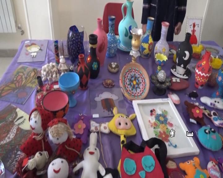 برپایی نمایشگاه تبلور هنر در فسا
