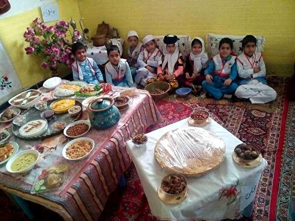 جشنواره هویت کودکان ایرانی در روستای نوغاب