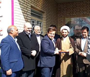 ساخت سالن ورزشی در چیتاب با مشارکت بنیاد برکت