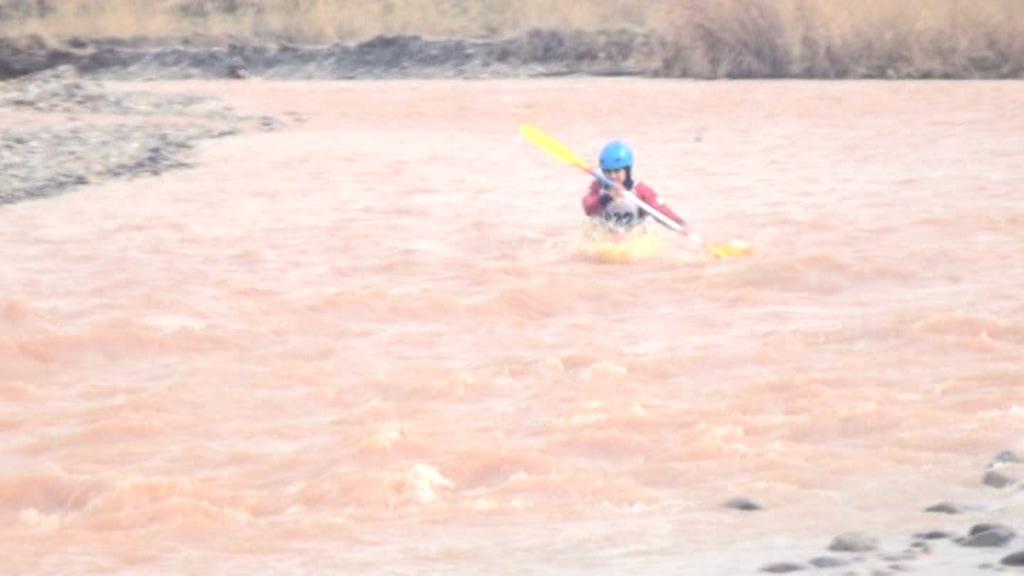 پایان ماراتن آبهای خروشان در الموت غربی
