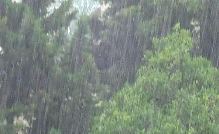 بارشهای رگباری در خراسان رضوی