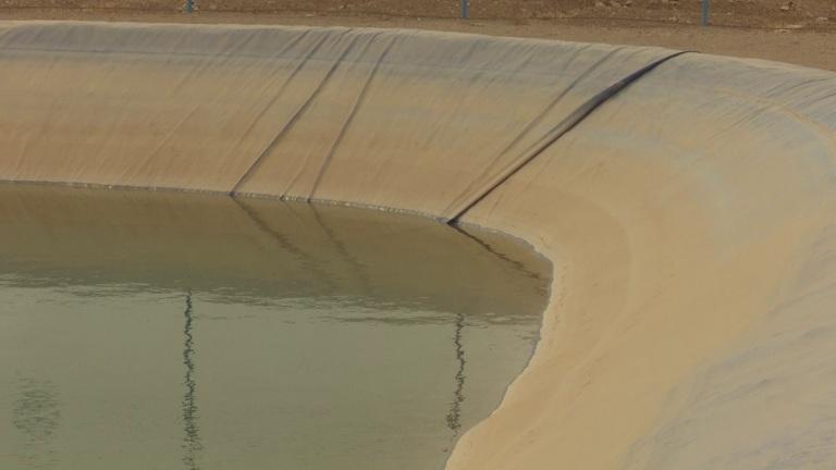 کاهش 50 درصدی هدررفت آب در استخرهای کشاورزی