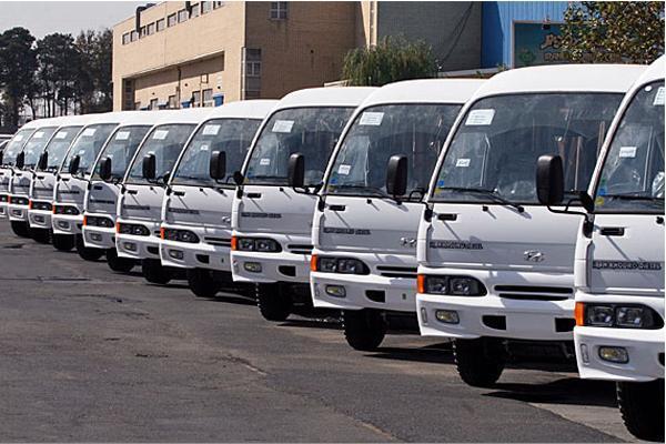 واگذاری ۵۰۰ دستگاه خودروی مینی بوس در طرح نوسازی