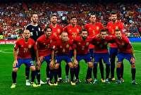 فهرست نهایی اسپانیا برای جام جهانی