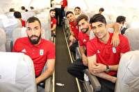 ملی پوشان فوتبال به استانبول رسیدند