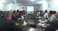 نشست دهیاران بخش مرکزی مهاباد با موضوع تشدید نظارت بهداشتی