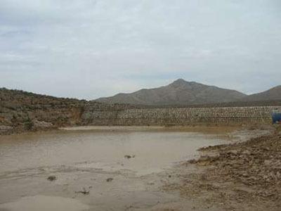 آغاز ساخت پخش سیلاب چوپانان