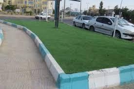 توقف چمن کاری در مشهد