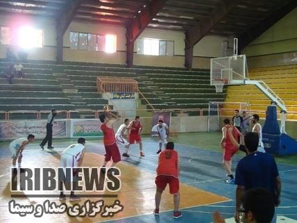 ادامه مسابقات بسکتبال جام رمضان مهاباد با دو دیدار