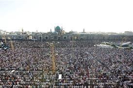اعلام برگزاری نماز عید سعید فطر در حرم امام رضا(ع)