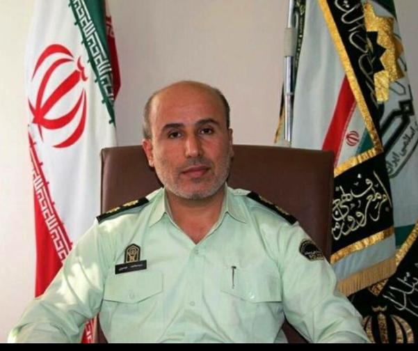 فرمانده انتظامی شهرستان گچساران دستگیری قاتل شیشهای در گچساران