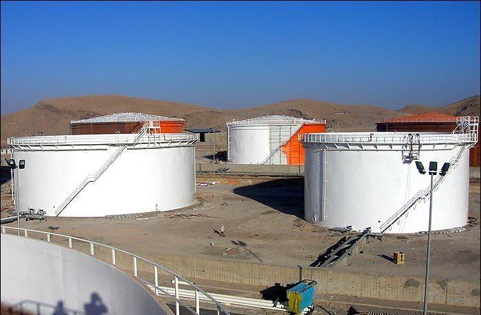 تخلیه اولین محموله نفت خام کرکوک در مخازن دره شهر