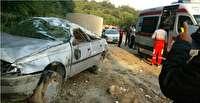 6 مصدوم حادثه رانندگی در سوادکوه
