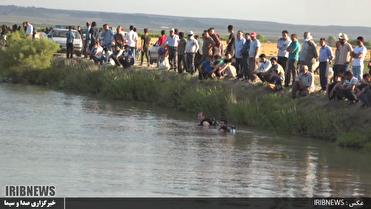 غرق شدن جوان پارس آبادی در کانال آب