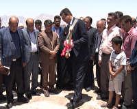 آغاز ساخت آموزشگاه خیری در مهریز