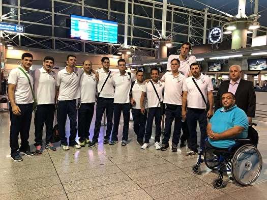 عزیمت تیم های ملی والیبال نشسته ایران به هلند