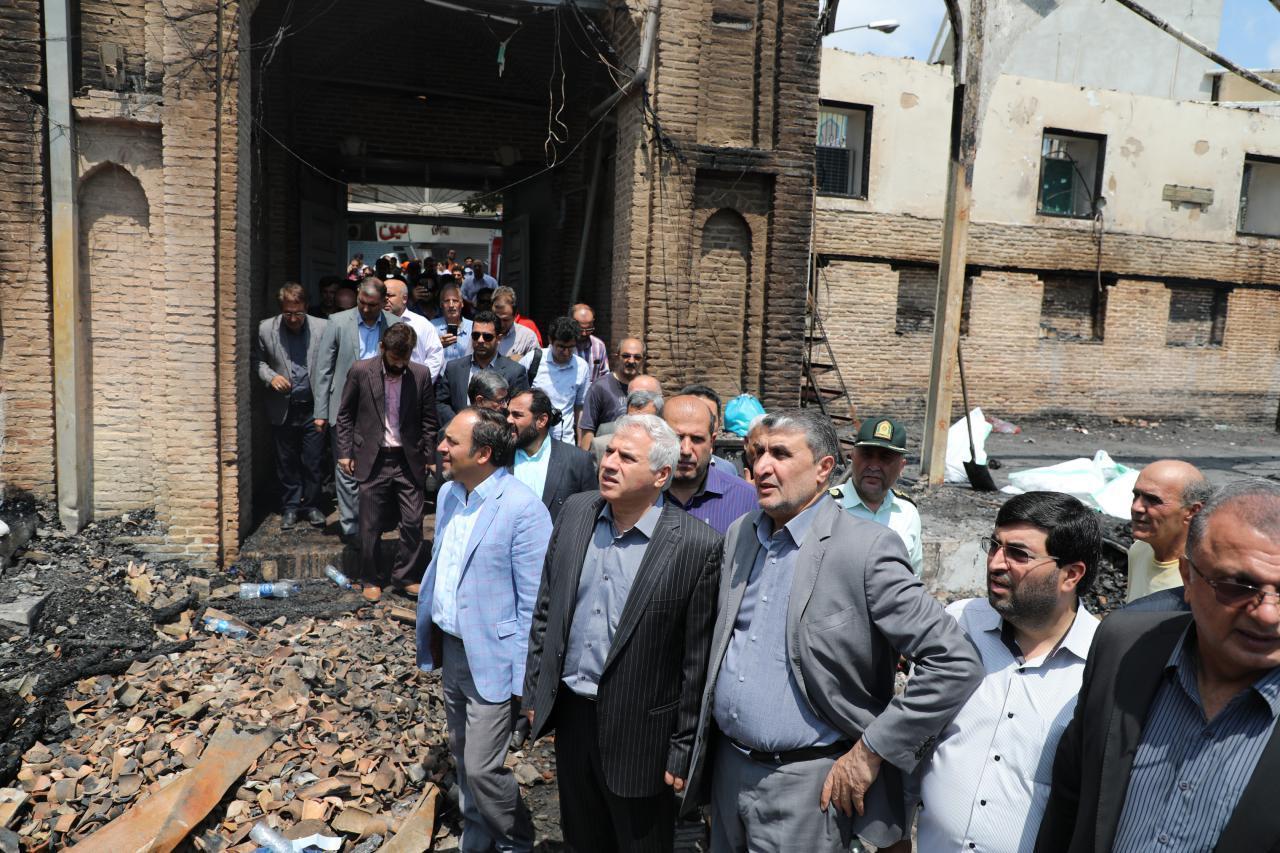 نتیجه تصویری برای بازسازی مسجد جامع ساری