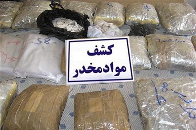 کشف 78 کیلوگرم مواد مخدر در عملیات مشترک پلیس استان و فارس