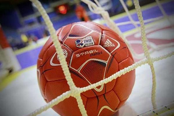 مسابقات هندبال المپیاد دانشجویان دختر کشور