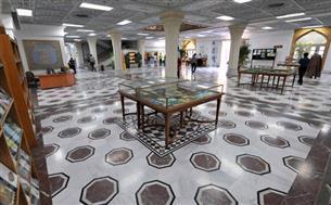 برپایی نمایشگاه کتاب و اسناد ضریحهای رضوی در کتابخانه مرکزی آستان قدس