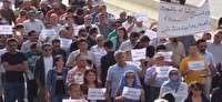 تظاهرات دهها شهروند کرد عراقي در اعتراض به اقدام نظامي تريکه در عراق