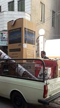 اهداء50 سری جهیزیه به مددجویان کمیته امداد تربت حیدریه