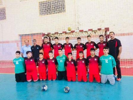 تیم هندبال نفت و گاز قهرمان مسابقات منطقه 7 کشور