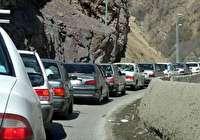 رئیس پلیسراه البرز ترافیک سنگین جاده کرج-چالوس