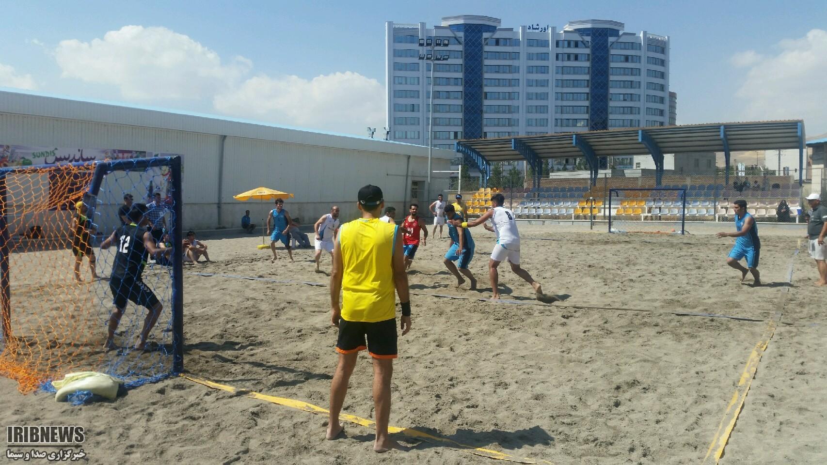 پایان رقابت هندبال ساحلی کشور در ارومیه