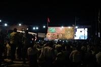 بزرگداشت شهدای روستای اروانه در سرخه