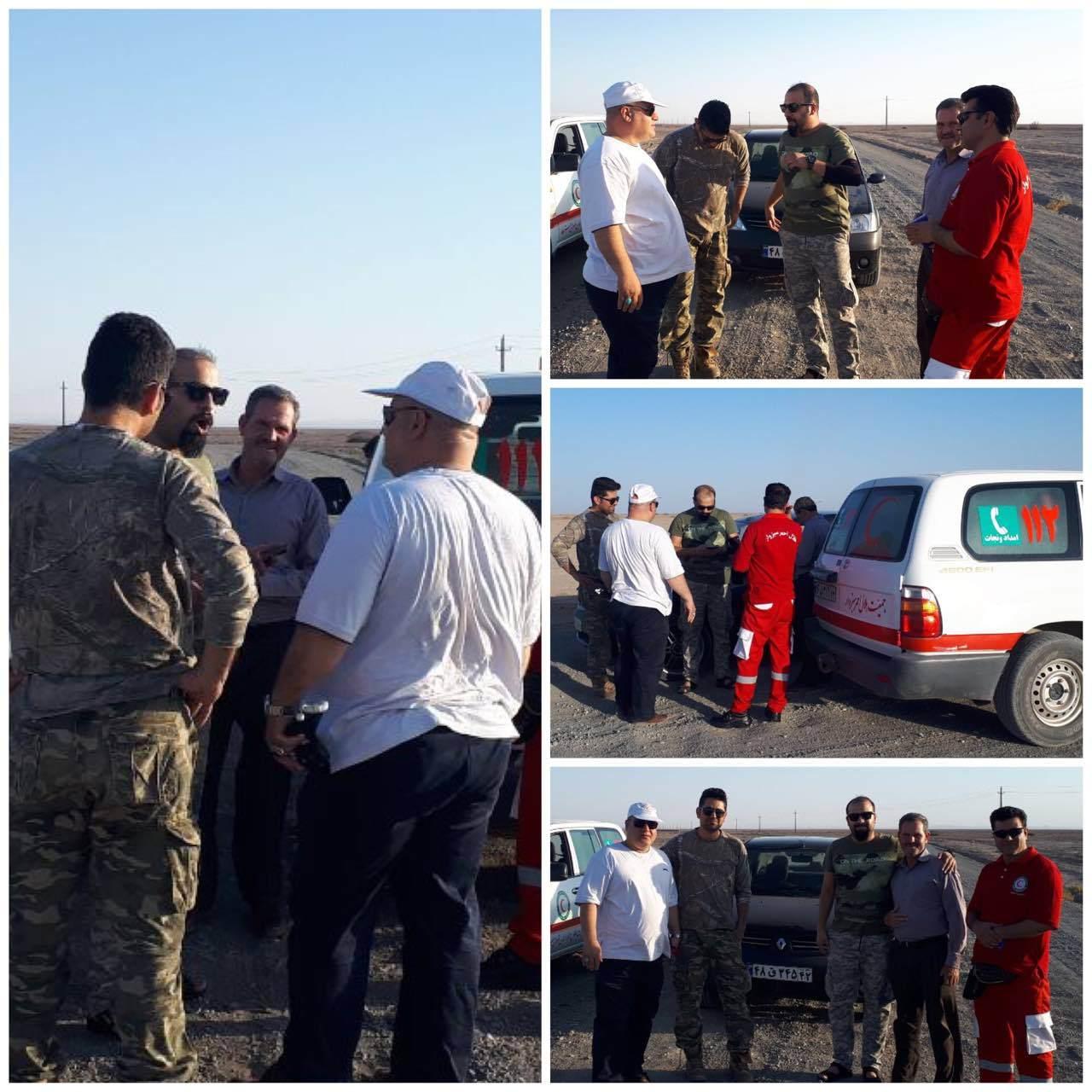 پیدا شدن 2 عکاس مشهدی ،گمشده در کویر مزینان