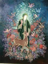 گشایش نمایشگاه تصویرگری یا امام رئوف (ع) در مشهد