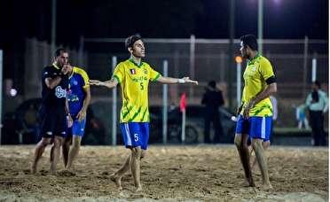 شکست تیم شهید جهان نژادیان آبادان در لیگ برتر فوتبال ساحلی