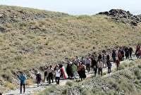 برگزاری کوهپیمایی خانوادگی آزادگان در مشهد