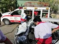 سه حادثه پرخطر  در جاده چالوس