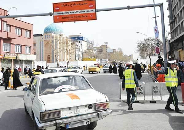 تمهیدات ترافیکی روز عرفه در مشهد اعلام شد