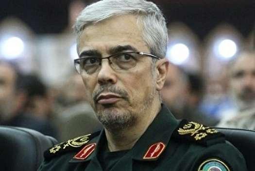 پیام تبریک رئیس ستاد کل نیروهای مسلح به امیر سرتیپ نصیرزاده