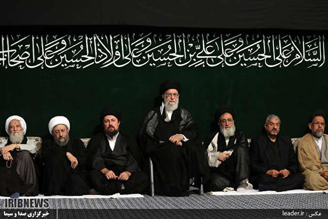 آخرین شب مراسم عزاداری حضرت اباعبدالله الحسین علیهالسلام - حسینیه امام خمینی (ره)