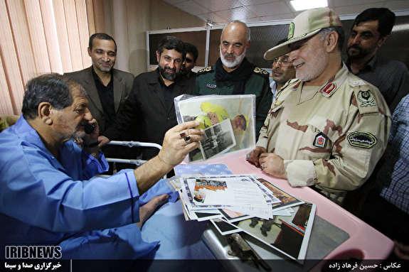 بازدید استاندار خوزستان از مجروحان حادثه تروریستی اهواز