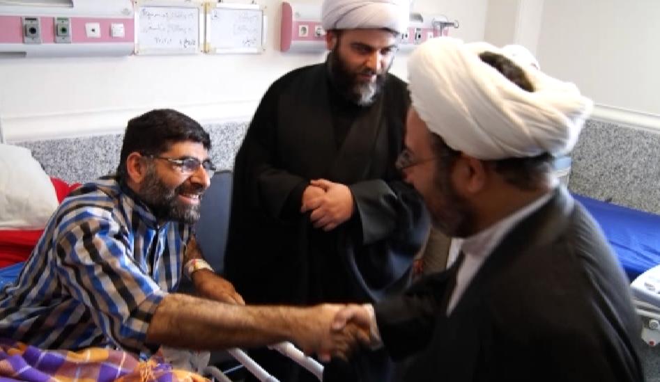 عیادت رئیس سازمان تبلیغات اسلامی کشور از مجروحان حادثه ی تروریستی اهواز