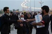 استقبال ستاد اربعین حسینی بنیاد کرامت رضوی در مرزهای خراسان رضوی از زائران خارجی