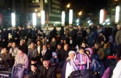 برگزاری مراسم بدرقه کاروان پیاده مشهد به کربلا