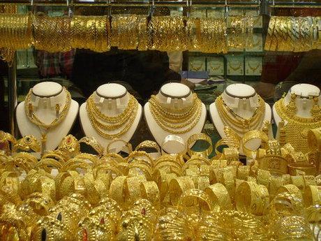 کاهش سطح معاملات طلا در بازار